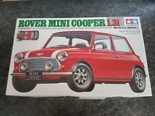 Tamiya 1/12 Rover Mini Cooper 1.3i Complet Pièces Scellé très bon état RARE