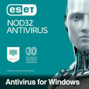 ESET NOD32 Antivirus 2021 ✅ 1 YEAR ✅ 1 PC ✅ Original ✅