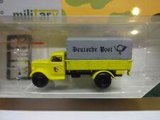 Herpa 745376 Opel Blitz planifier camion La Poste Allemande Nuremberg Minitanks 1:87 NOUVEAU