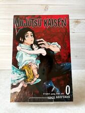 Jujutsu Kaisen Jump Comic manga vol.0 English edtion New