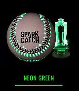 """Spark Catch lighting baseball """"NEON GREEN"""""""