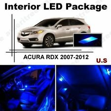 Blue LED Lights Interior Package Kit for Acura RDX 2007-2012 ( 8 Pieces )