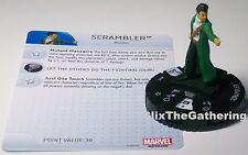 SCRAMBLER 015 Uncanny X-Men Marvel HeroClix