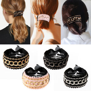 Styling Tool Ponytail Hold Clamp Hair Updo Clip Hair Claw Banana Hairgrip