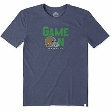 NCAA Notre Dame Fighting Irish Men's Game On Cool Tee Size Small NWT $32.00