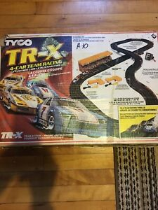 Tyco tracks with box , TR-X