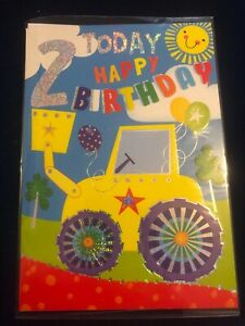 Age Birthday Cards ages 2 -  5  Boys Good quality cards