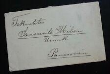 Hungary 1891 Cover Sent From Torontalvasarhely To Pancsova Serbia  C2
