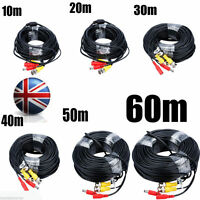 EG_ 10M 20M 30M 40M 50M 60M CCTV DVR Camera Video DC Power Security BNC Cable Fi