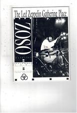 Rare Vintage Led Zeppelin Zoso Magazine September 1991 Vol V No. Ix Ms1882