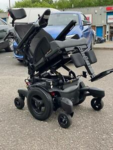 QUICKIE JIVE M HYBRID MWD 6MPH ELECTRIC WHEELCHAIR POWERCHAIR MANUAL MOBILITY
