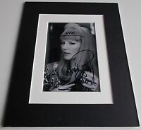 Petula Clark Signed Autograph 10x8 photo mount display Music memorabilia & COA