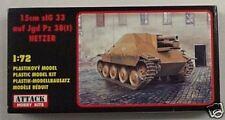 Attack 1/72 15cm sIG 33 auf Jgd Pz 38 (t) Hetzer Tank 72810