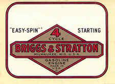 """Briggs & Stratton Easy Spin transfer 3""""x2.5"""""""