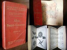 catalogue COMPAGNIE FORGE & ACIERIE de MARINE Homecourt Acier Lorraine 1909 rare