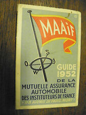 Guide MAAIF 1952  Guide touristique  Bas-languedoc Provence