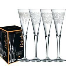4  Sektflöten  Delight  von Nachtmann, 4 Dekore, Champagnergläser,  Sektgläser