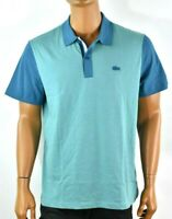 Lacoste Sports Mens Blue Polo Shirt New XL Short Sleeve Regular Fit Solid