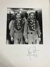 Neil Armstrong- 11X14 Matte Board Signed with Vintage Photo