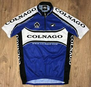 Colnago Parentini RARE Blue cycling jersey size M