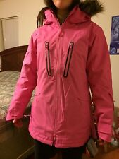 Womens pink under armour snowboard jacket