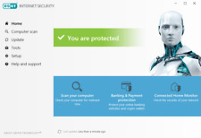 ESET Antivirus Internet Security Version Activation for 20 Years (ver12.2.30.0)
