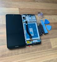 GENUINE BLACK HUAWEI Y7 PRIME PRO 2019 DUB-LX1 LCD SCREEN DISPLAY AND FRAME