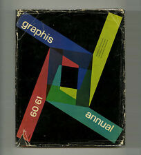 1960 Paul Rand GRAPHIS ANNUAL Piero FORNASETTI Alan FLETCHER Saul BASS Ray Komai