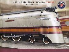 Lionel Train Catalog 2006 Free Shipping.