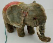 Vintage Msk Ts Maker Mark Battery Operated Walking Elephant Toy Japan Untested