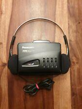 Panasonic RQ-P166 Walkman XBS Autoreverse Equalizer mit original XBS Kopfhörern