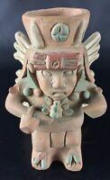 Superbe statuette vase Inca Maya - Vintage - Terre cuite