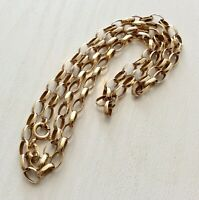 Lovely Quality Vintage 9 Carat Gold Necklace Chain 20 inch 9CT Gold Chain