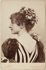 Mlle Bardy, Actrice Théâtre Conservatoire, Photo Cabinet card, Nadar