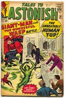 Tales To Astonish 50 Marvel 1963 FN Giant Man Wasp Jack Kirby Stan Lee