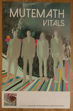 Music Poster Promo Mutemath ~ Vitals - Double Sided