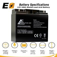 12V 18AH Replacement UPS Battery for Power Patrol SLA1116