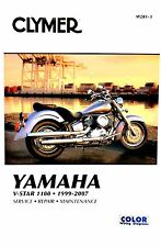 Yamaha V-Star 1100 1999-2007 Clymer Tienda/Reparación Manual