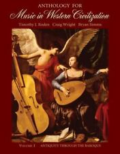 Anthology for Music in Western Civilization, Vol. 1: Antiquity Through the Ba…