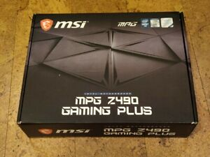 MSI MPG Z490 Gaming Plus ATX LGA 1200 for Intel 10th gen Core i9, i7, i5, i3