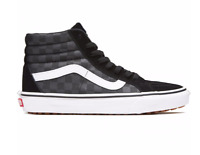 Vans Men's Sk8-Hi Reissue UC Made For The Makers Shoes, Black/Checkerboard