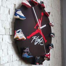 Ultimate Sneakerhead Gifts 3D mini Sneakers Clock USA Wall Air Jordan 23 Shoes