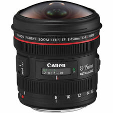 Canon EF 8-15mm f/4L Fisheye USM Fisheye Ultra-Wide Zoom Lens