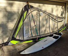 sailboard windsurfer slalom BIC Presto 280, Gaastra pryde 6.5m rig sydney north