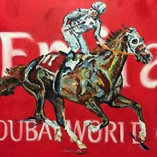 "CALIFORNIA CHROME Derby triple crown horse racing print matted 11"" x 14"""