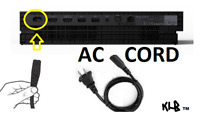 New XBOX ONE X AC Power Wall Adapter Cable Cord Microsoft plug-in