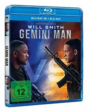GEMINI MAN [Blu-ray 3D + 2D] (2019) German Import Will Smith, Ang Lee Movie