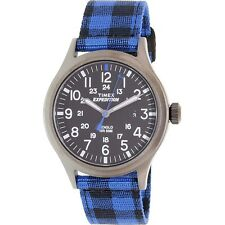 Timex Men's Expedition TW4B02100 Blue Nylon Automatic Fashion Watch