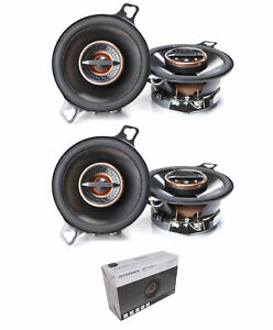 """Pair of Infinity Reference 3.5"""" 3 Ohm 150 Watt 2-Way Coaxial Car Speakers"""