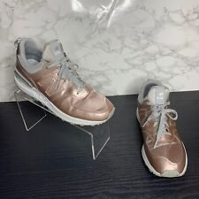 New Balance 574 Womens Size 8 Rose Gold/White/Silver Running Athletic Shoes